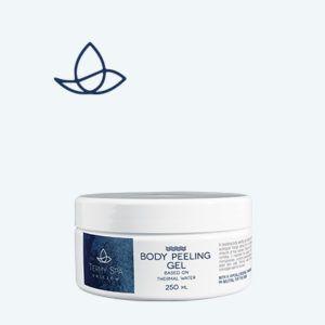 Peeling w żelu do ciała na bazie wody termalnej